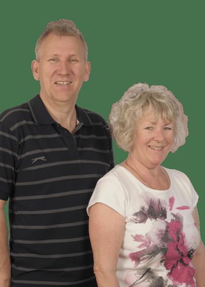 Ann and Mike Ruffles